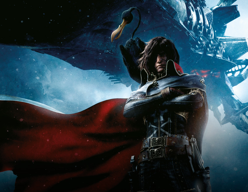 HARLOCK SPACE PIRATE Sci-fi Action